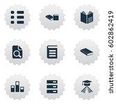 vector illustration set of...   Shutterstock .eps vector #602862419