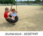 Brother And Sister Swing...