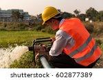 plumber engineer worker   Shutterstock . vector #602877389