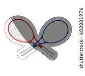 tennis sport design | Shutterstock .eps vector #602881976
