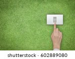 energy saving and ecological... | Shutterstock . vector #602889080