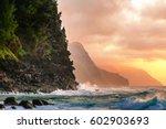 napali coast | Shutterstock . vector #602903693