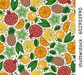 raster illustration.  seamless... | Shutterstock . vector #602903990