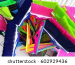 cleaning product  colorful... | Shutterstock . vector #602929436