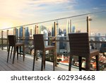 singapore city view point from... | Shutterstock . vector #602934668