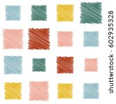 abstract theme. colored... | Shutterstock .eps vector #602935328