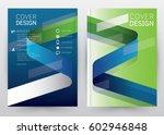 cover design vector template...   Shutterstock .eps vector #602946848