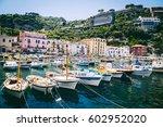 sorrento  italy   june 18  ... | Shutterstock . vector #602952020