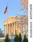 united states supreme court in... | Shutterstock . vector #602952608
