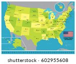 united states | Shutterstock .eps vector #602955608