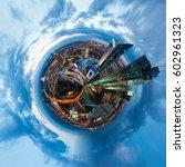 circle city | Shutterstock . vector #602961323