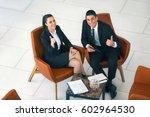 colleague team  businessman and ... | Shutterstock . vector #602964530