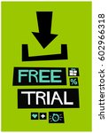 poster ad for a free trial of...