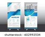 roll up template vector... | Shutterstock .eps vector #602993534