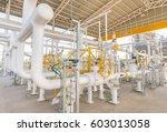industrial zone gas metering... | Shutterstock . vector #603013058