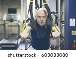 old man getting ready to... | Shutterstock . vector #603033080