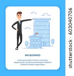 real estate developer... | Shutterstock .eps vector #603040706