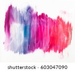 colorful nail polish smashes on ... | Shutterstock . vector #603047090