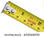 inches ruler | Shutterstock . vector #603068450