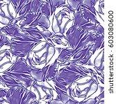 roses.seamless background.... | Shutterstock . vector #603080600