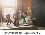 image of a business command... | Shutterstock . vector #603080759