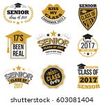 collection of logo badges and... | Shutterstock .eps vector #603081404