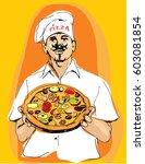 vector illustration of a master ...   Shutterstock .eps vector #603081854