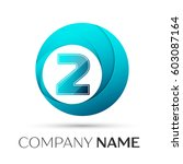 Number Two Vector Logo Symbol...