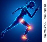 3d illustration of women leg... | Shutterstock . vector #603090113