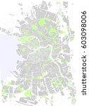 vector map st. petersburg black ... | Shutterstock .eps vector #603098006