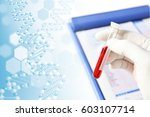 medical concept image genome | Shutterstock . vector #603107714