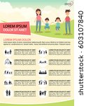 poster activities family icons. | Shutterstock .eps vector #603107840