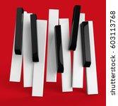 jazz music festival  poster... | Shutterstock . vector #603113768