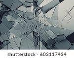 abstract 3d rendering of... | Shutterstock . vector #603117434