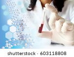 medical concept image genome | Shutterstock . vector #603118808