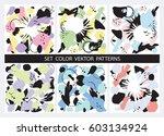 universal set of vector... | Shutterstock .eps vector #603134924