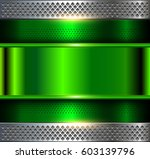 Metallic Background  Green...