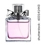 Perfume Bottle Isolated On...