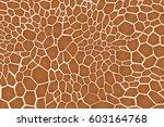 Giraffe Texture Pattern  Brown...