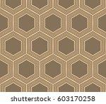 modern geometric seamless... | Shutterstock .eps vector #603170258
