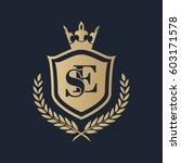 se logo | Shutterstock .eps vector #603171578