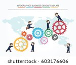 easy to edit with people... | Shutterstock .eps vector #603176606