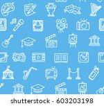 culture and creative fine art... | Shutterstock .eps vector #603203198