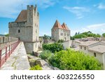 view of carcassonne from the...   Shutterstock . vector #603226550