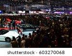 geneva  switzerland   march 18  ... | Shutterstock . vector #603270068