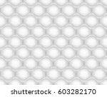 bubble wrap seamless pattern... | Shutterstock .eps vector #603282170