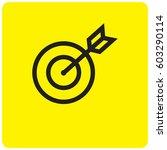 target icon | Shutterstock .eps vector #603290114