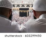 mecca  saudi arabia   january... | Shutterstock . vector #603299450