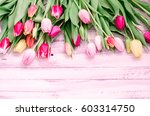 rustic white wood background... | Shutterstock . vector #603314750