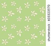 seamless pattern lilies on... | Shutterstock .eps vector #603323570